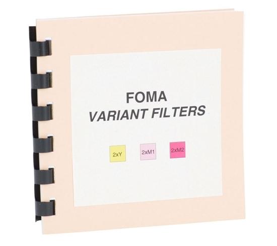 Foma Multigrade filter set 8,9x8,9cm 6 filters