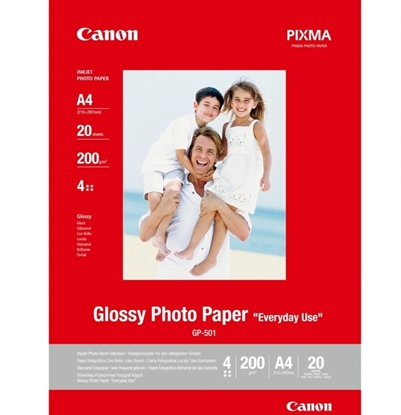Canon GP-501 Photo Paper Glossy A4 20 vel 200gr