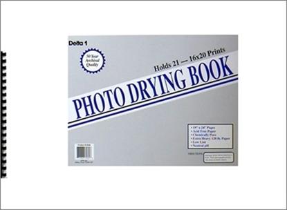"""DELTA 1 Photo Drying Book voor het drogen van bariet papier tot 19x24"""""""