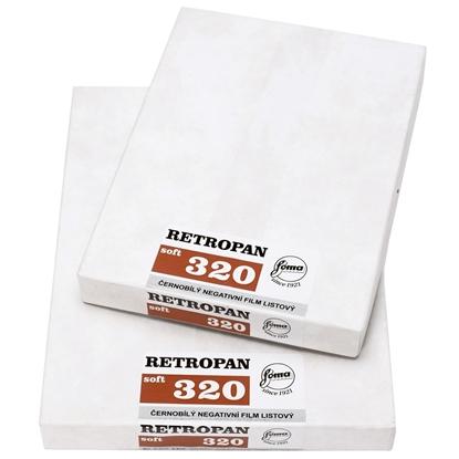 Foma Retropan Soft 320 vlakfilm zwartwit 4x5 inch 25 vel