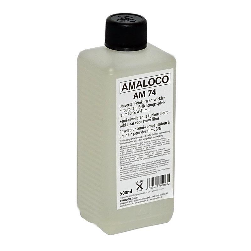 Amaloco AM 74 fijnkorrel filmontwikkelaar 500ml