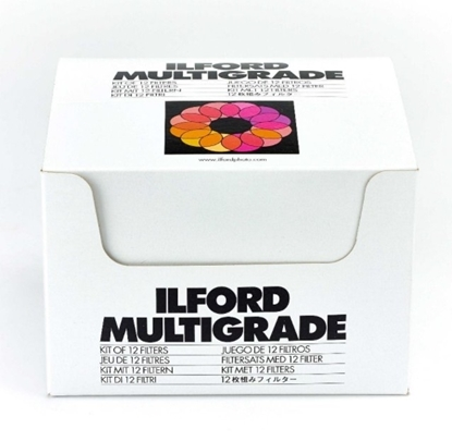 Ilford Filter Kit 12 filters voor onder het objectief