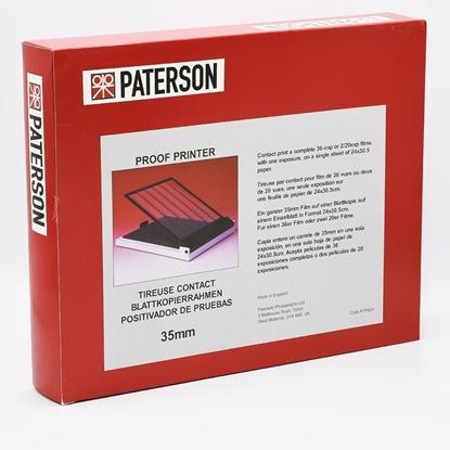 Paterson Contactraam 35mm voor 7 stroken kleinbeeldfilm PAT621