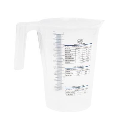 Adox maatbeker 1 liter