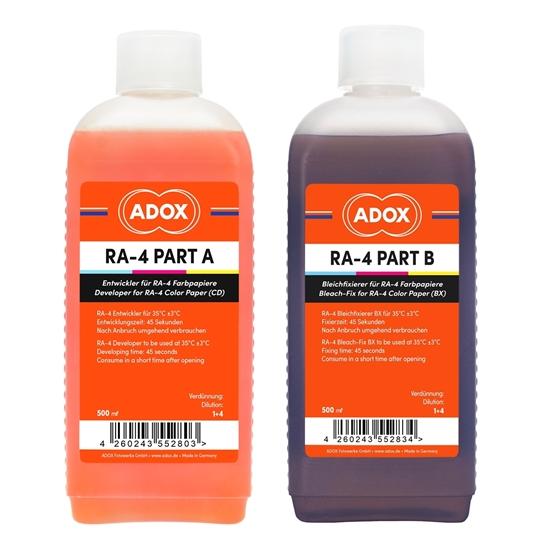 ADOX RA4 Ontwikkelaar en Bleekfix