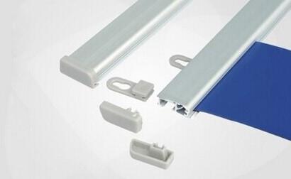 Postersnaps aluminium Posterstrips 1 set van 2 strips lengte 62,5cm