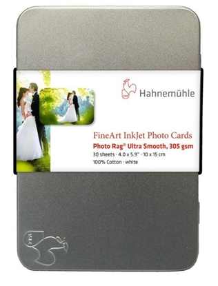 Hahnemuehle Photo Rag Ultra Smooth 305gr Photo Cards