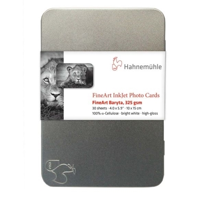 Hahnemuehle Fine Art Baryta Gloss 325gr Photo Cards 10x15cm