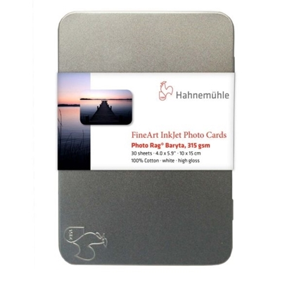 Hahnemuehle Photo Rag Baryta 315 gr Photo Cards 10x15cm