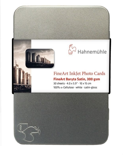 Hahnemuehle Fine Art Baryta Satin 300gr Photo Cards 10x15cm
