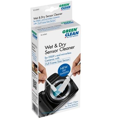 Green Clean Sensor Cleaner wet and dry voor Full Size Sensor