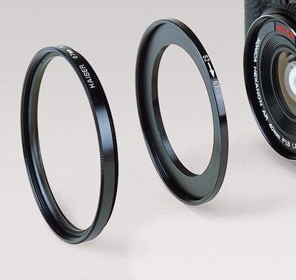 Kaiser 6569 filteradapterring van 62mm objectiefmaat naar 58mm filtermaat