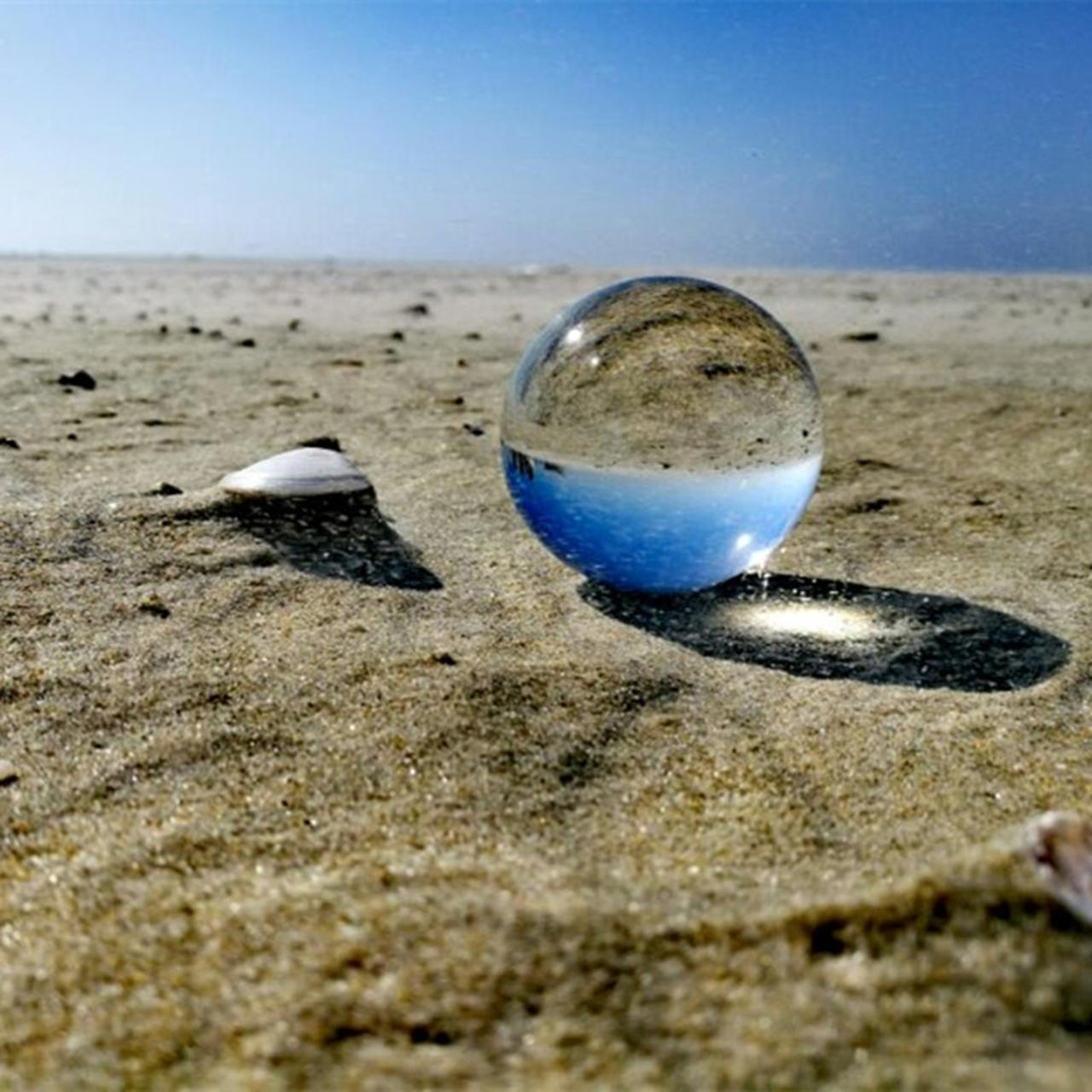B.I.G Foto glas kogel 80mm voorbeeld foto