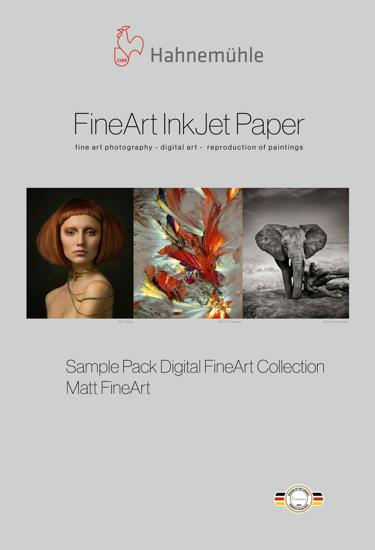 Hahnemuehle Sample Trial Pack Fine Art Mat
