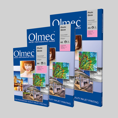 Olmec Inkjet A4 Heavyweight Gloss 260 gr. 500 vel