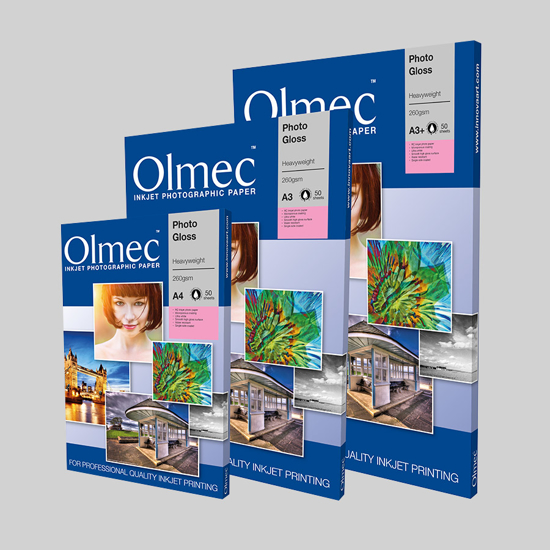 Olmec Inkjet A3+ Heavyweight Gloss 260 gr. 50 vel