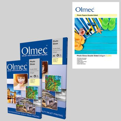 Olmec inktjet fotopapier dubbelzijdig te gebruiken A3 29,7x42cm 50 vel