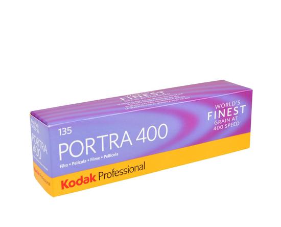 Kodak Kleinbeeld Portra 400 135-36 5 pack
