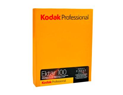 Kodak Ektar 100 4x5 inch vlakfilm kleurennegatief 10 vel