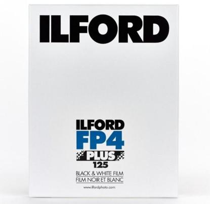 "Ilford Vlakfilm zwartwit FP4 Plus 4x5"" 25 vel"