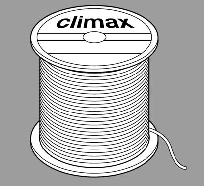 Perlondraad Diameter 1mm